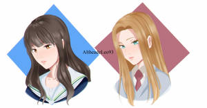 [KnB OC] The new girls by AltheaDeLeo