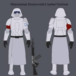 Murometian Homeworld Combat Uniform