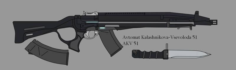 AKV-51, Murometian Federal Service Rifle