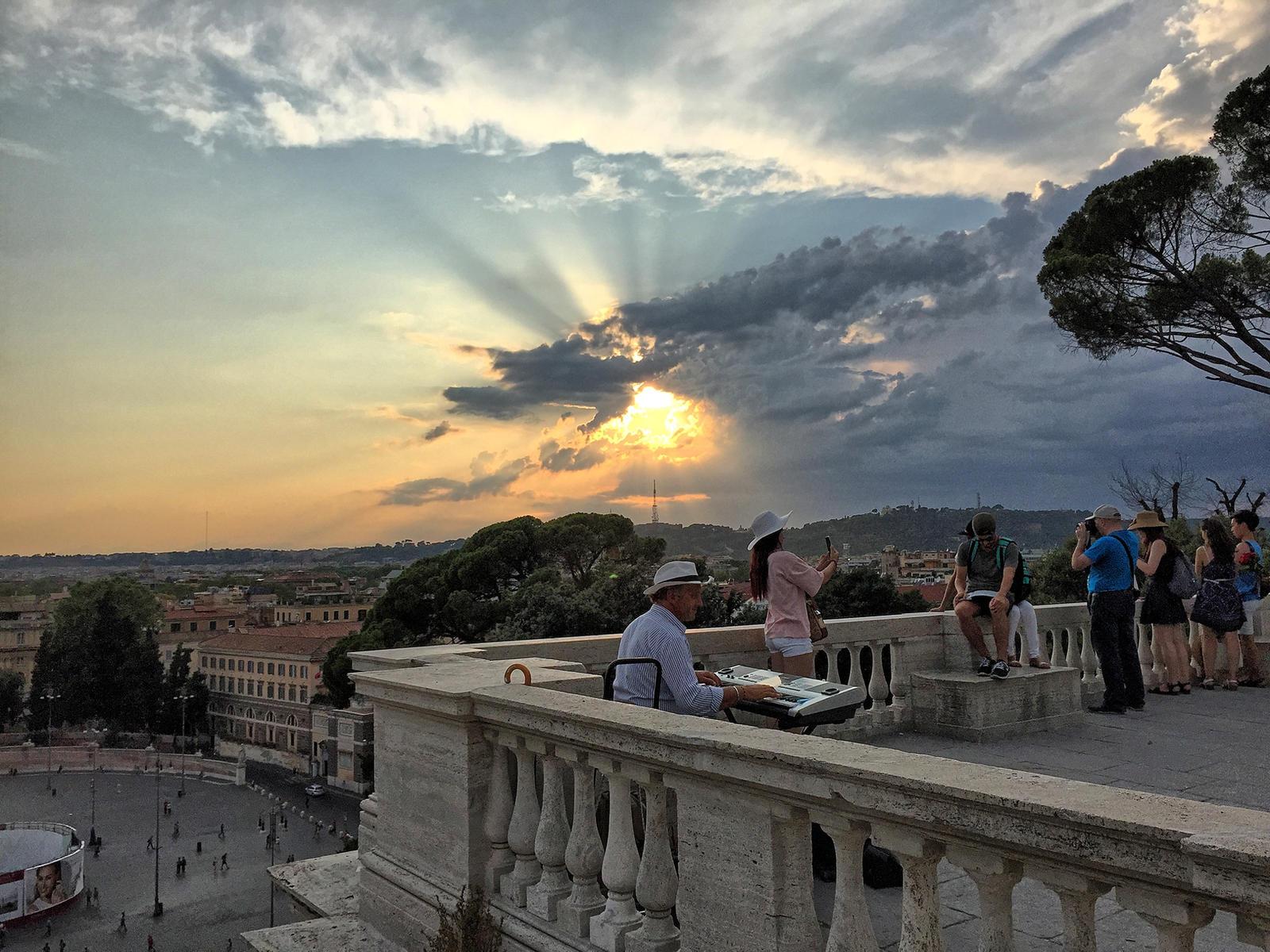 Terrazza Del Pincio Rome Italy By Flamenfloralis On