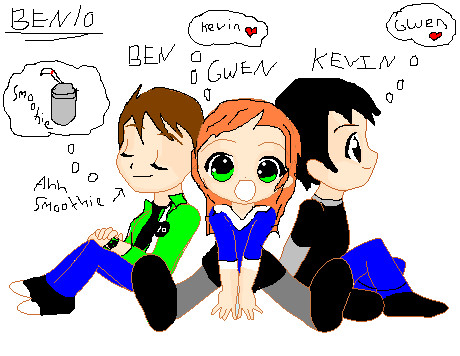 the gallery for gt ben and gwen love fanfiction