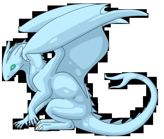 Ice Dragon by Ziskara