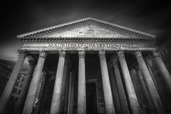 Pantheon Rome by MVL01