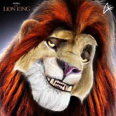 Lion king adult simba 12