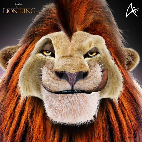 Lion king adult simba 11