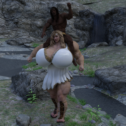 Hornycles conquers Aphrodite 3D version by ToricandHornycles