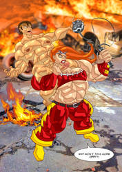 Hornycles vs Thundra by Artbrojohn by ToricandHornycles