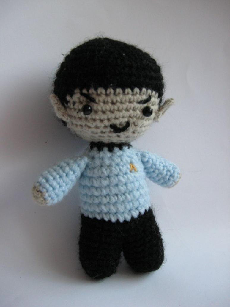 Spock Amigurumi by ElsaMalloy on DeviantArt