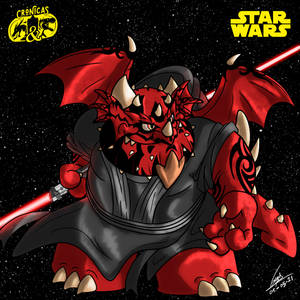 Dragon Darth Maul