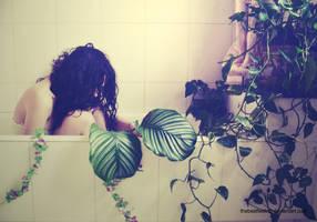 Siren in the bathroom by thebestfeeling