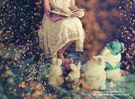 Alice e i Bianconigli by thebestfeeling