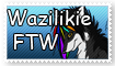 Wazilikie stamp by Breezebolt