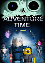 Adventure Time Mass Effect crossover by Alejk