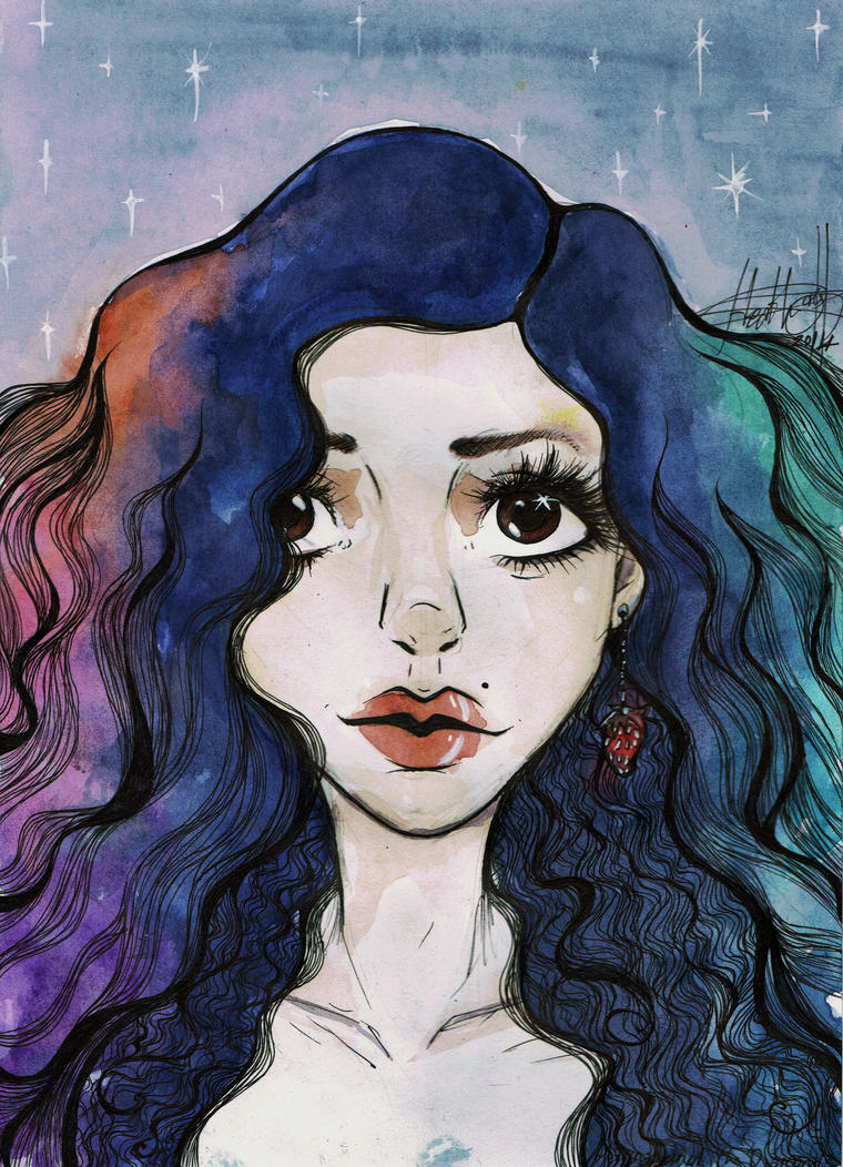 Marina and the Diamonds ~ Froot by hev-cat97 on DeviantArt