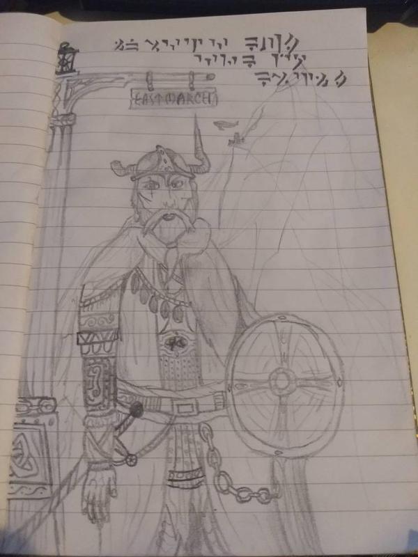 A True Son of Skyrim  by MessyNessa