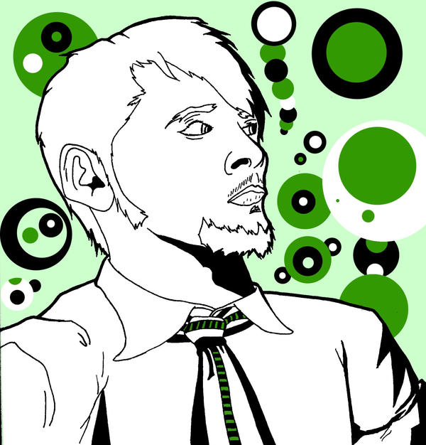 Vector Self Portrait 2 by dippydude
