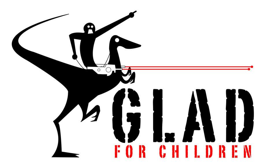 GLAD Concept Logo Design 1 by dippydude