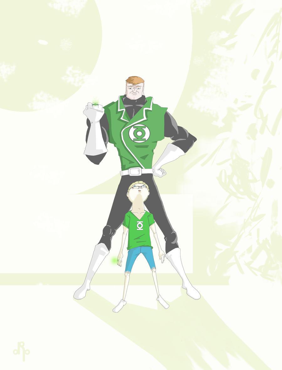 Kid Lantern by dippydude