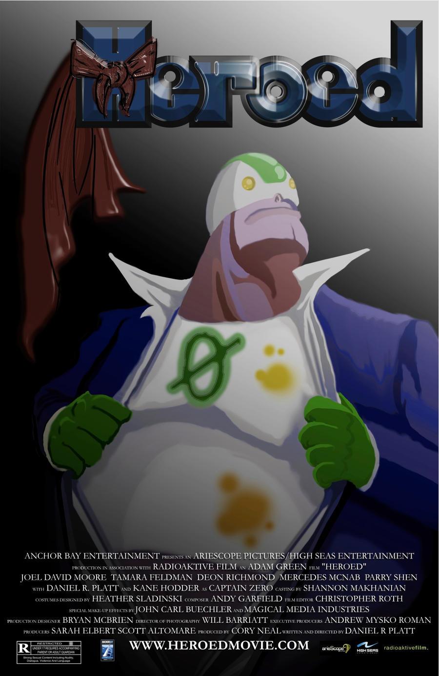 Heroed Movie Poster by dippydude