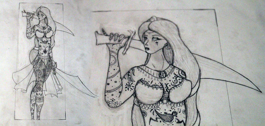 Jasmine WIP by dippydude
