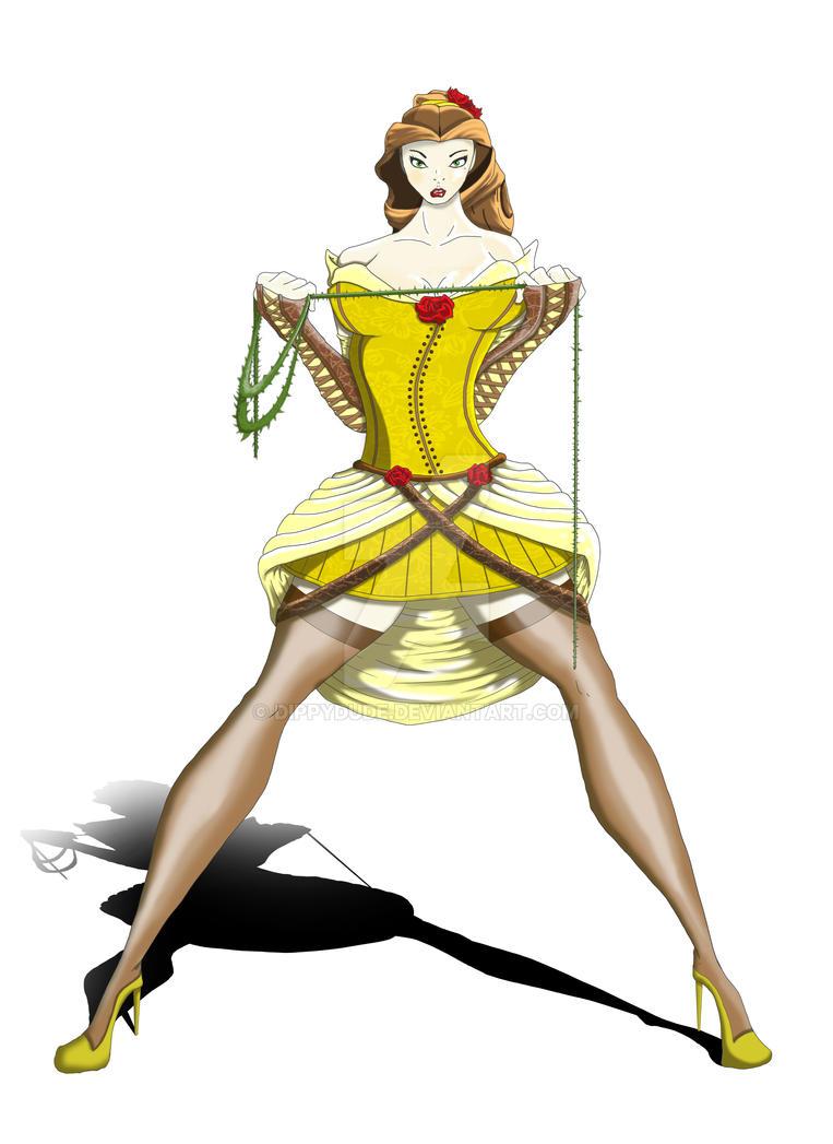 Belle - Heroic Heroine by dippydude