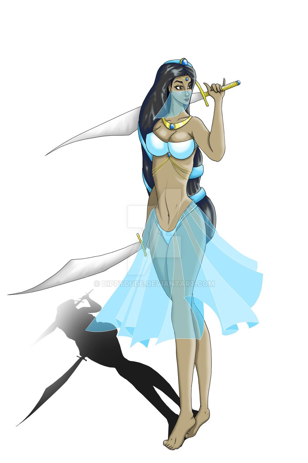 Jasmine - Heroic Heroines series by dippydude