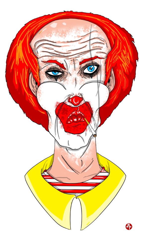 Later Years - Ronald by dippydude