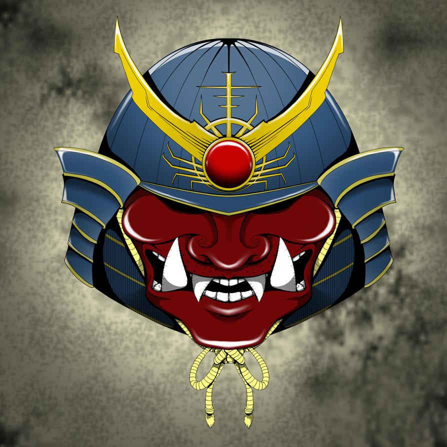 Shogun Mask by dippydude