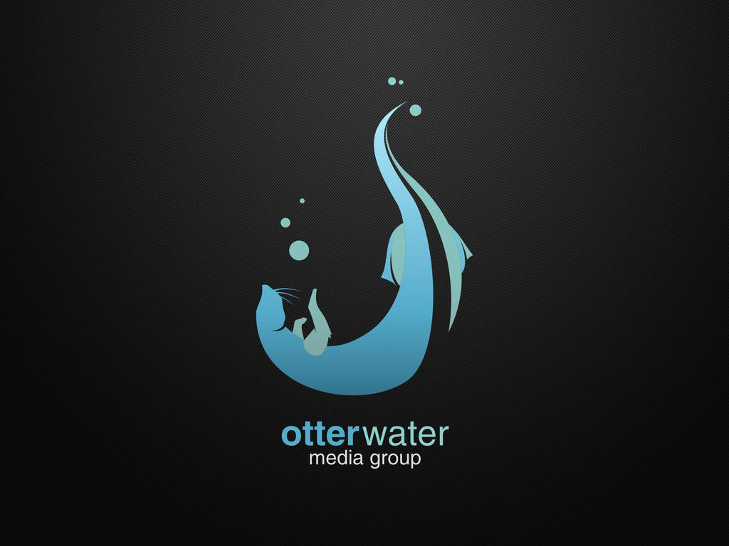 OtterWater Media Group Logo by dippydude
