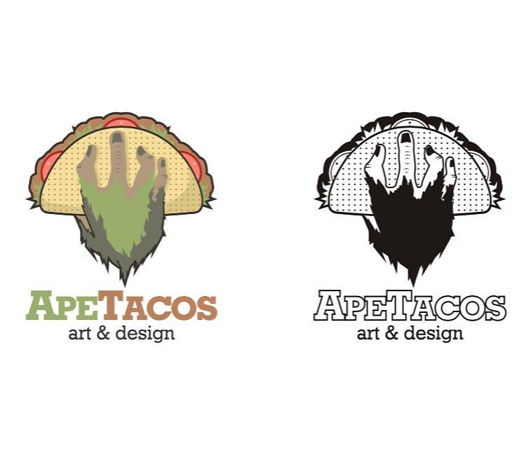 Ape Tacos Logo by dippydude