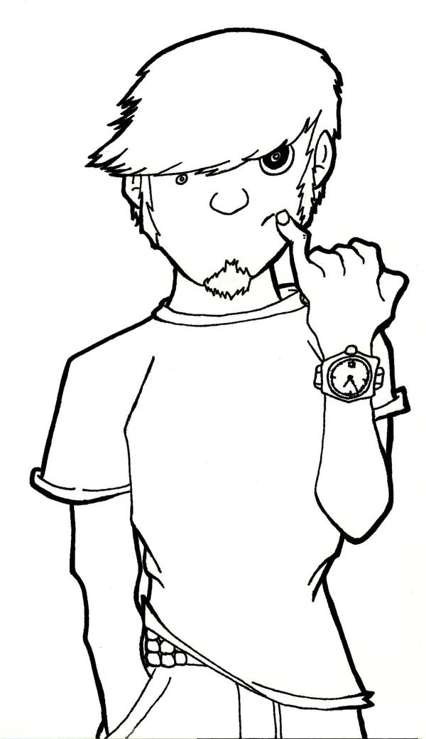 Self Portrait 2007 by dippydude