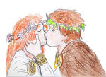 HtTyBD 3-Merida and Hiccup's wedding day by jloves-pp