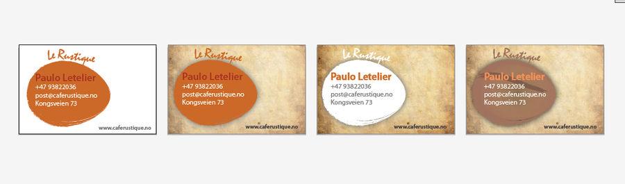Business cards le rustique