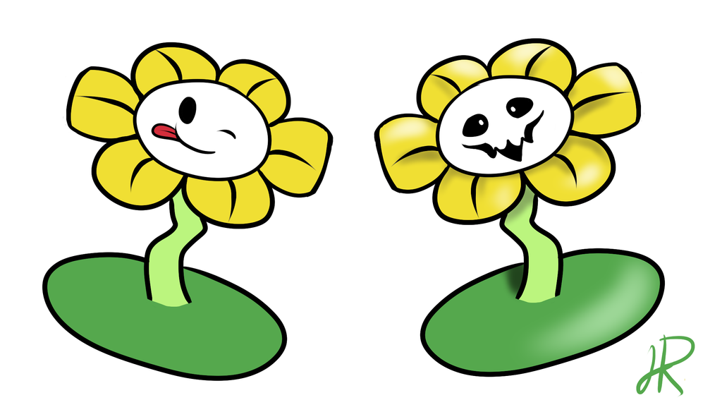 Flowey the Flower by SkeletalStar