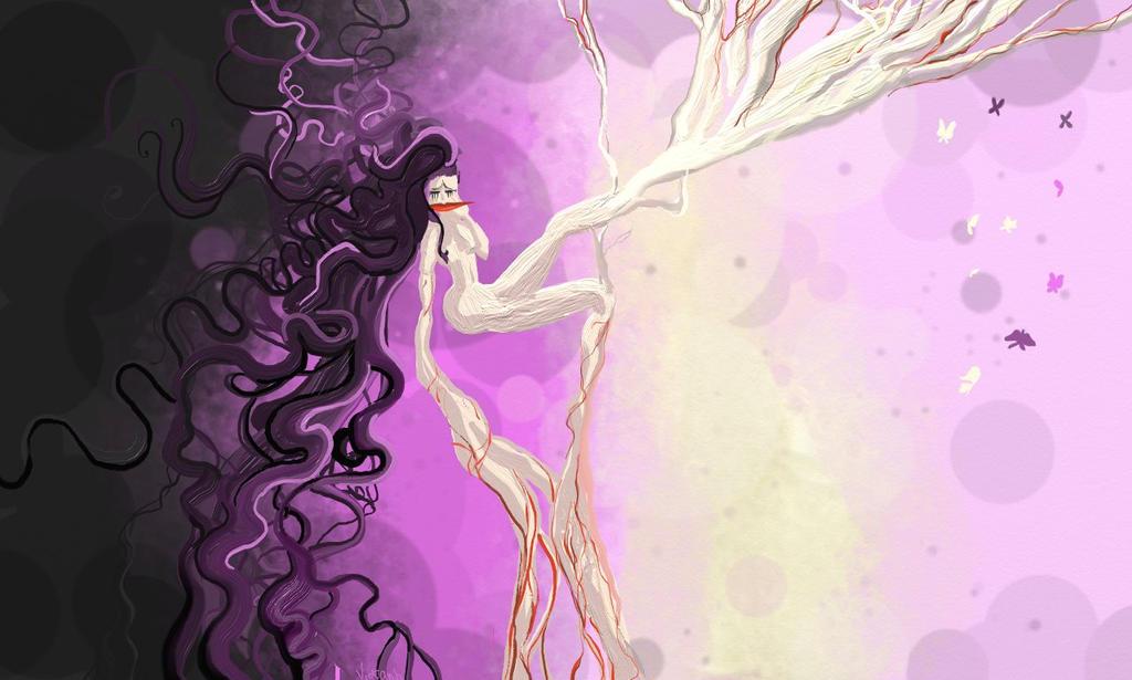 La Femme Arbre by vietAnhoustra