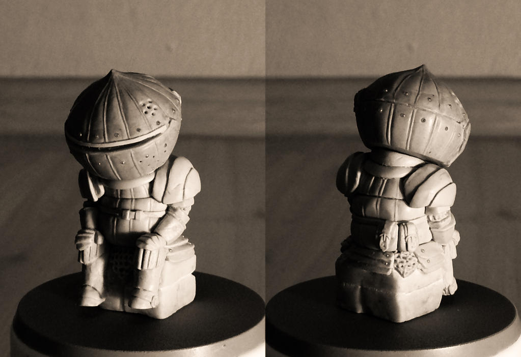 Siegmeyer of Catarina 5cm sculpt by GeekUndead