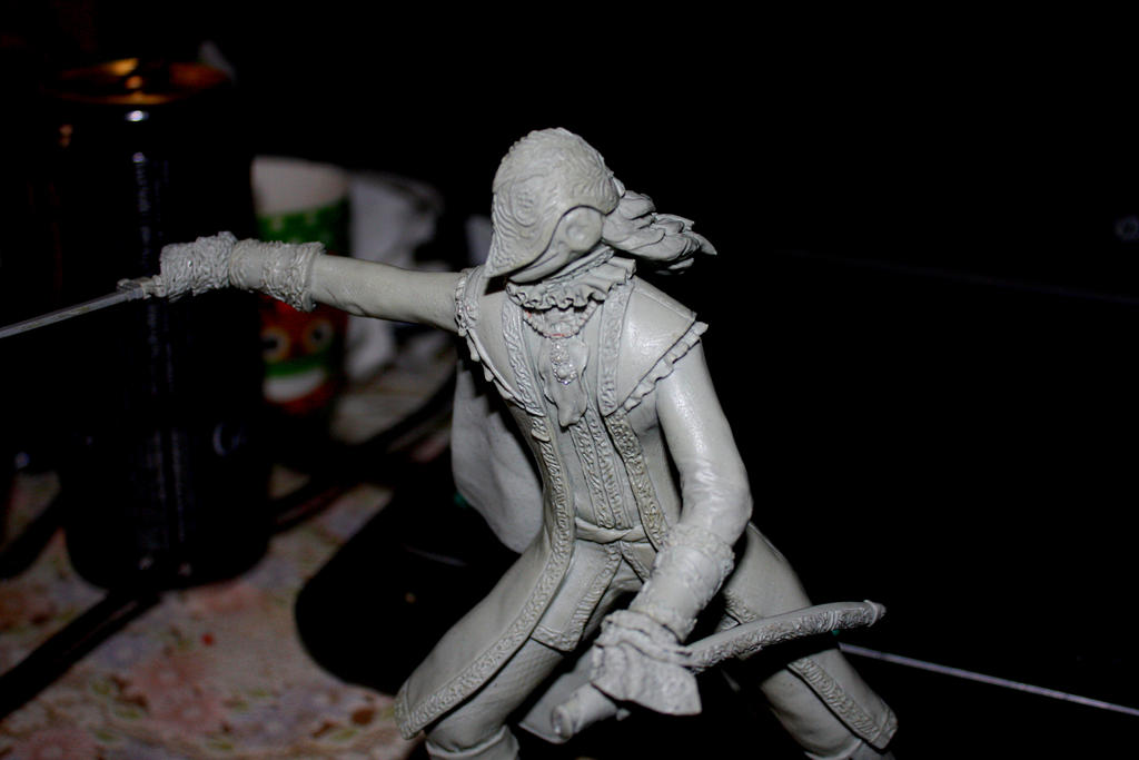 Blood Knight of Cainhurst WIP by GeekUndead