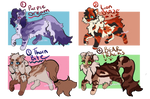 Warrior Cat Adopts | auction | open by waluichi