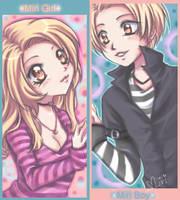 Girl+Miri+Boy by Miriamele