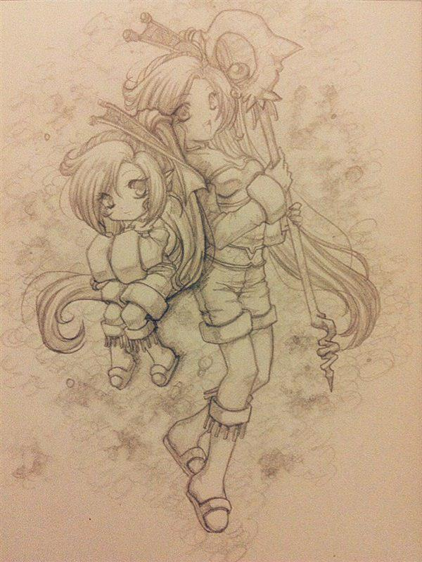 Aspirit elf by Miriamele