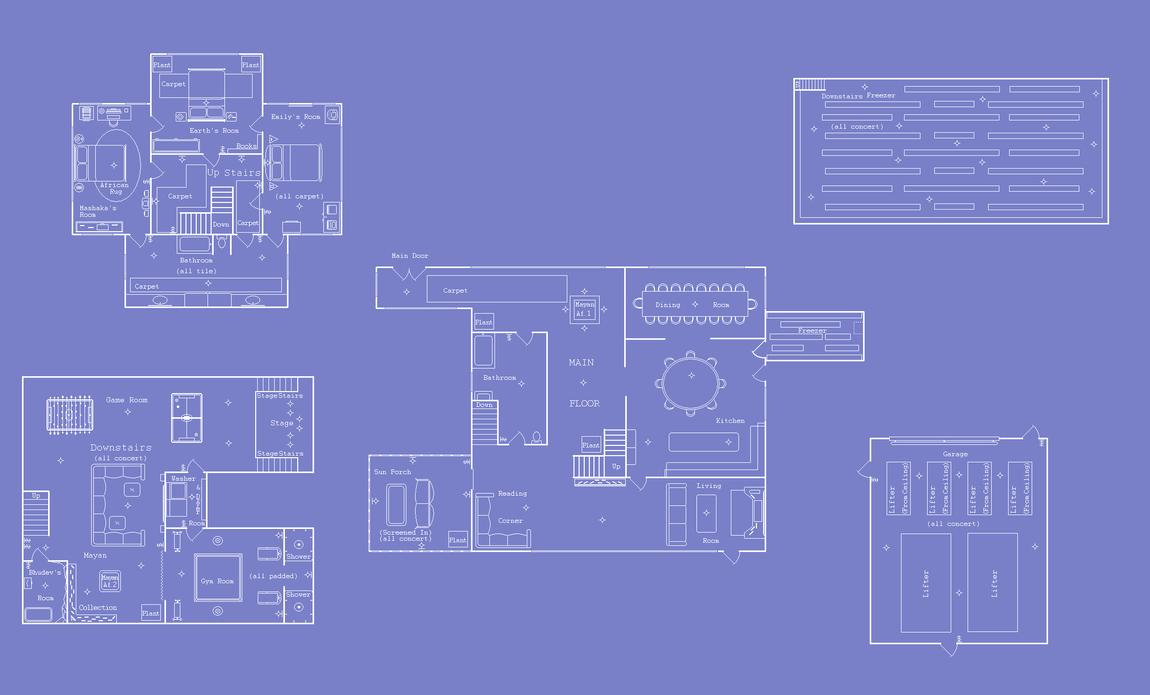 Earths house blueprints by aoi doragon on deviantart earths house blueprints by aoi doragon malvernweather Choice Image