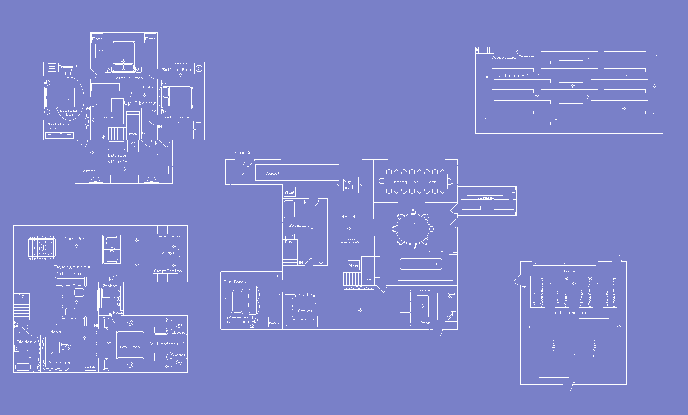 earths house blueprints by aoi doragon