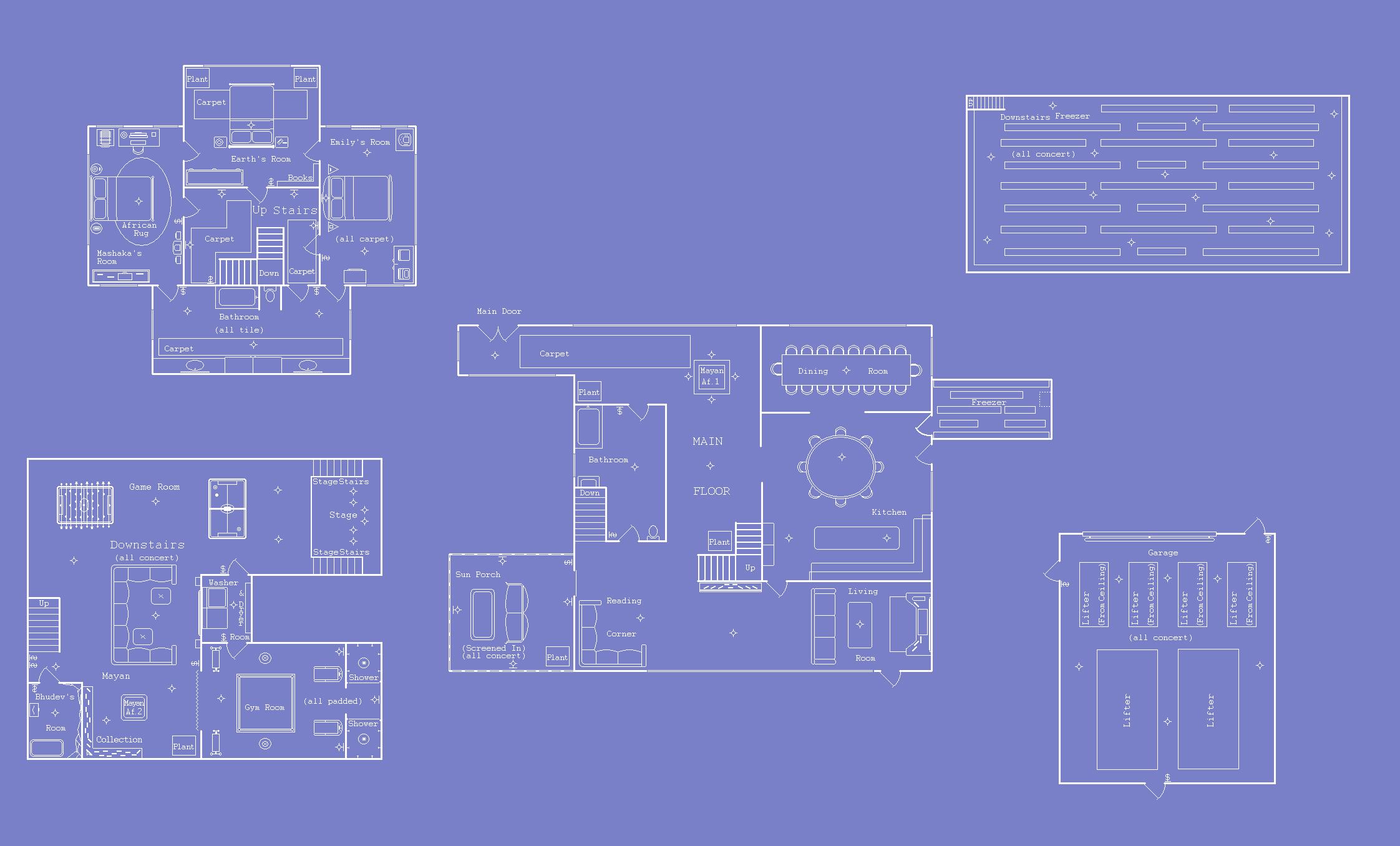 Earths house blueprints by aoi doragon on deviantart earths house blueprints by aoi doragon malvernweather Gallery