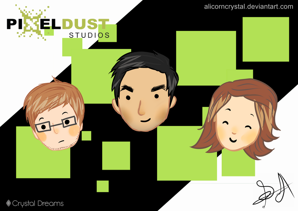 Thanks PixelDust Studios by AlicornCrystal
