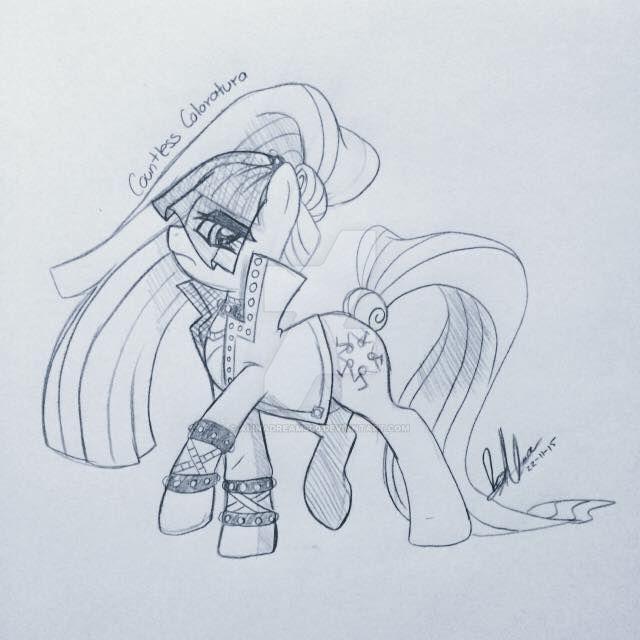 Countess Coloratura Sketch by AlinaDreams00