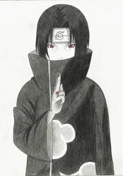 Uchiha Itachi by Mikeylaa