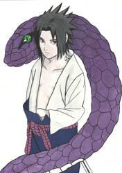 Sasuke Uchiha by Mikeylaa