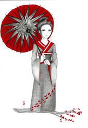 A Geisha by Mikeylaa