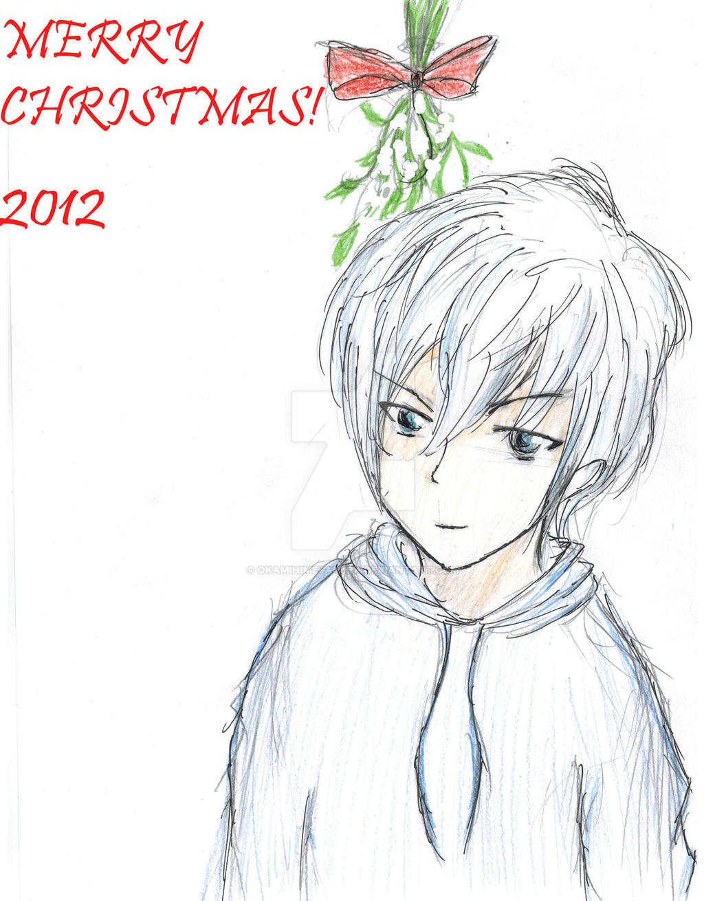 Jack Frost Under the Mistletoe by Okamihimesakura
