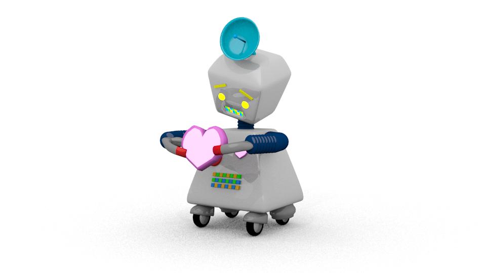 El robot que no sabe que es el amor by pabloebed on deviantart